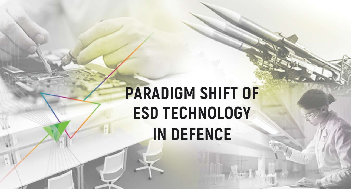 Paradigm Shift of ESD Technology in Defence