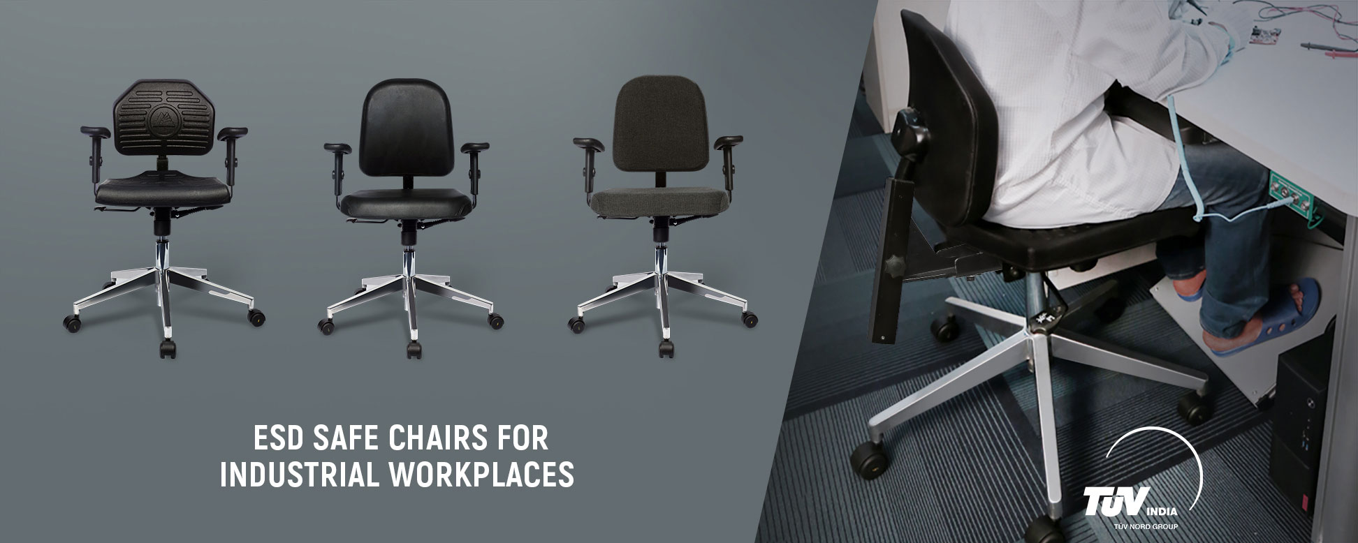 esd safe office chair
